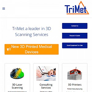 Trimet | 3D Scanning & Metrology Company