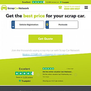 Scrap My Car with Scrap Car Network