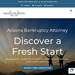 Phoenix Bankruptcy Attorney, Wright Law Offices