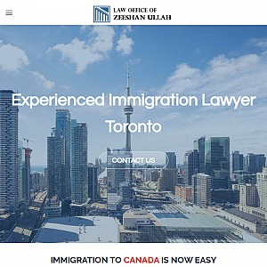 Zeeshan Ullah - Canadian Immigration Lawyer