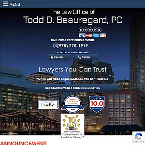 Lowell Personal Injury Attorney Massachusetts | Todd D. Beauregard, P.C.
