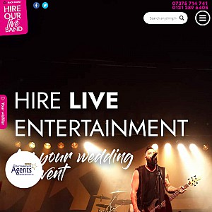 Hire Our Live Band - UK Entertainment Agency