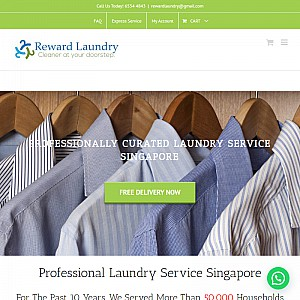 Door to door laundry and dry cleaning delivery
