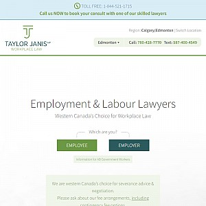 Taylor Janis LLP Employment Lawyers