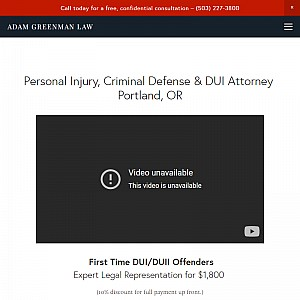 Adam Greenman Law