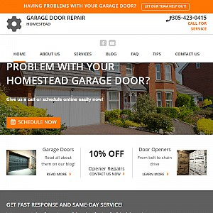 Garage Door Repair Homestead