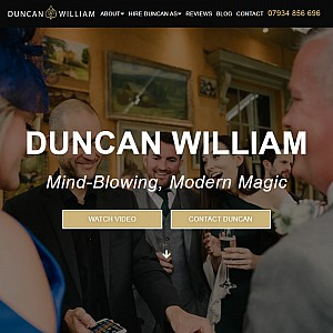 Duncan William - Magician for weddings and events