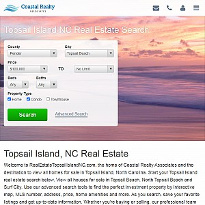 Topsail Island NC Real Estate