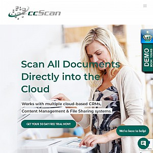 Scan or Import to the Cloud -- ccScan Saves You Time and Money