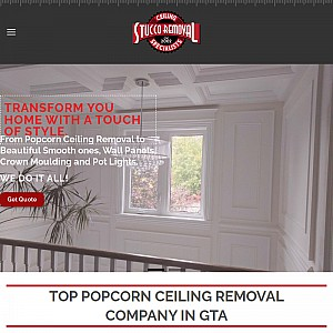 Ceiling Stucco Removal Toronto | Popcorn Stucco Removal by The Ceiling Specialists