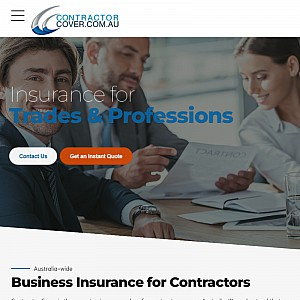 Contractor Cover - Contractors Insurance