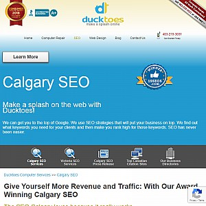 Ducktoes SEO in Calgary