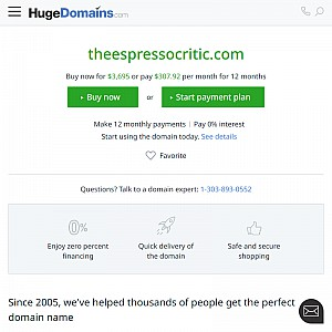 The Espresso Critic