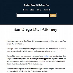 The San Diego DUI Defense Pros