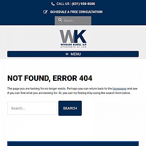Personal Injury Attorney Richard D. Winkler - Long Island, NY