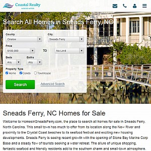 Homes for Sale in Sneads Ferry