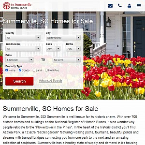 Summerville SC Homes for Sale