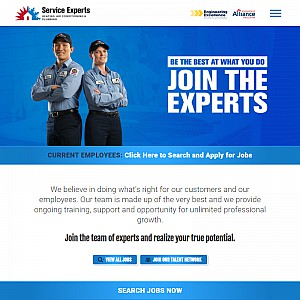 Heating and AC Jobs at Service Experts