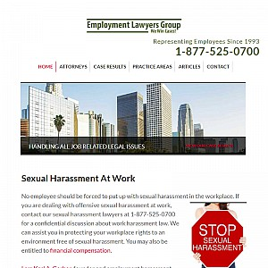 Employee Sexual Harassment Lawyer, Discrimination Attorney, Wrongful Termination