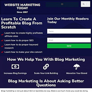 website marketing today
