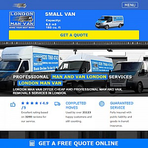 Man and Van in London