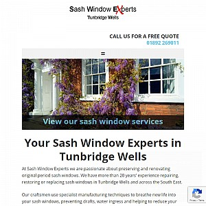 Sash Windows Tunbridge Wells