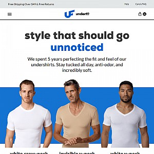 UnderFit - undershirts for men