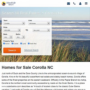Corolla, NC Homes for Sale