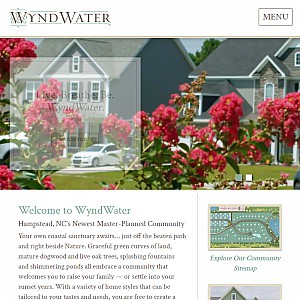 WyndWater - Hampstead, NC New Homes