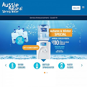 Aussie Natural Spring Water - Water Suppliers Perth