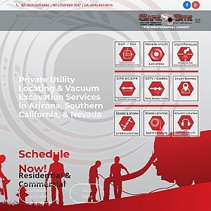 SafeSiteLLC.com | Underground Utility Locating and Mapping Services
