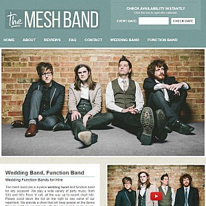 The Mesh Wedding Band