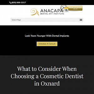 Anacapa Dental Art Institute Ventura & Oxnard
