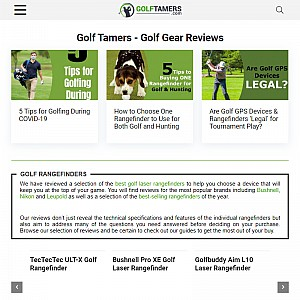 Golf Tamers - Don't Just Play The Game, Win It