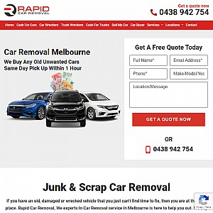 Car removal Melbourne - Rapid Car Removal