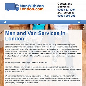 Best Man with a van Services