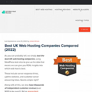 UK Web Host Review