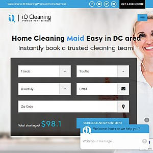 iQ Cleaning | Maid Cleaning Service Washington DC