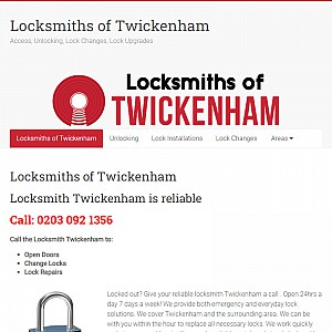 Locksmiths of Twickenham