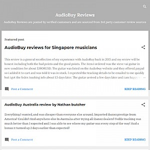 AudioBuy Reviews (Australia)