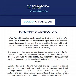 Care Dental Center | Cosmetic Dentistry