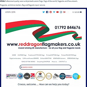 Red Dragon Flagmakers