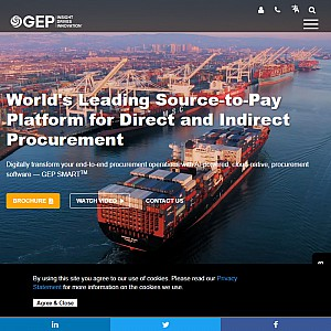 Unified Procurement Software - GEP SMART