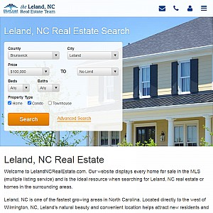 Leland, NC Homes for Sale
