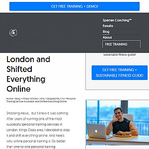 #1 Online Personal Trainer | Xenios Charalambous