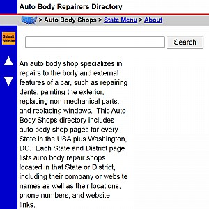 Auto Body Shops - US Auto Body Repair Shop Directory