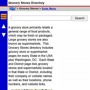 Grocery Stores - US Grocery Store Directory