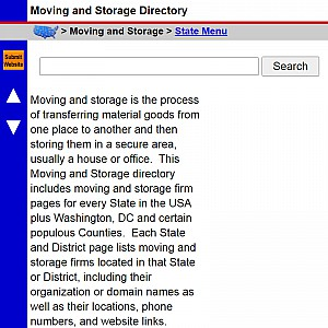 Moving and Storage - US Moving & Storage Directory