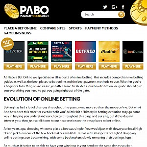 Place a Bet Online