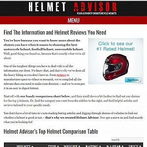 Reviews of the Best Motorcycle Helmets | Helmet Advisor